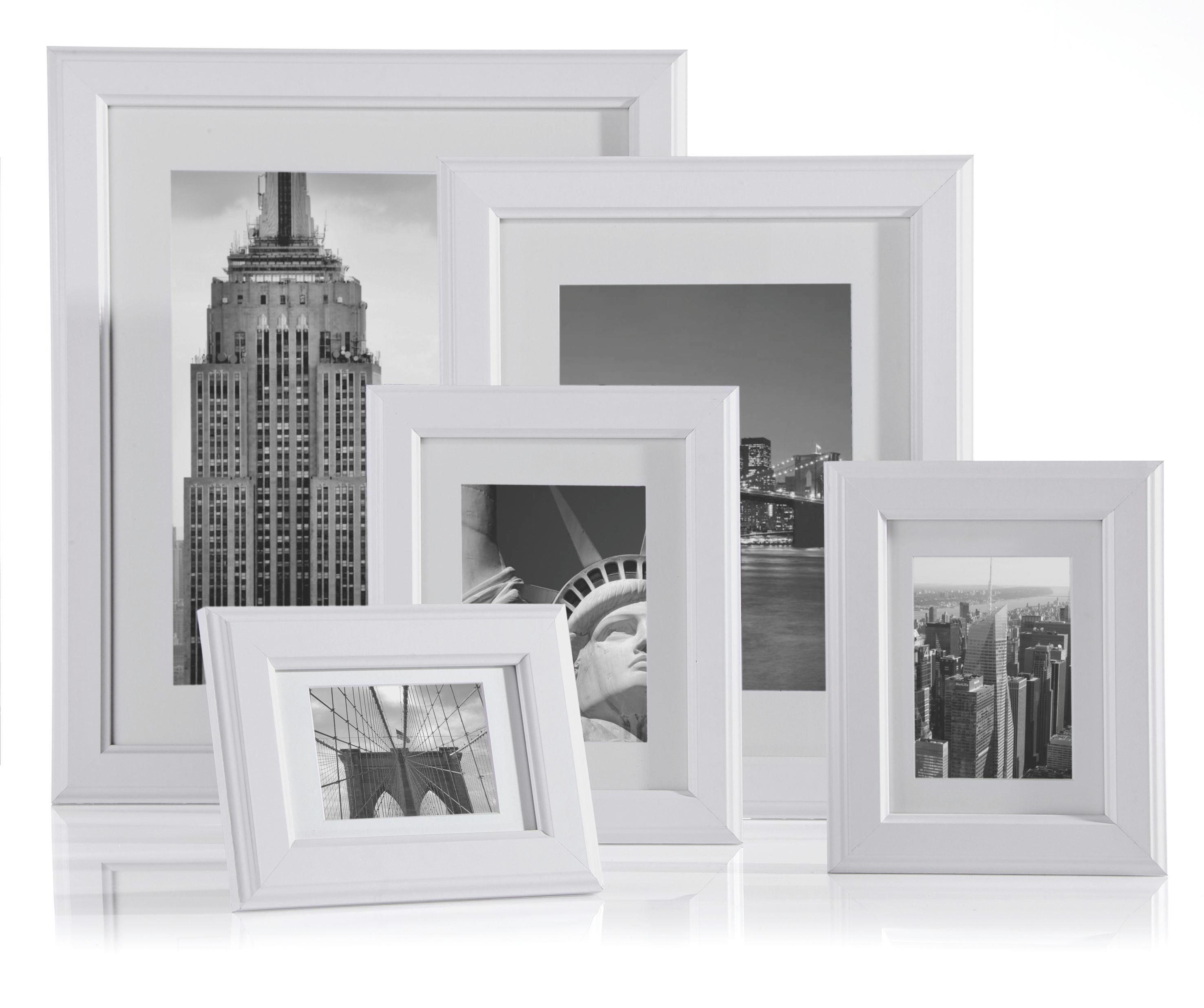 Képkeret Provence - fehér, romantikus/Landhaus, üveg/fa (30/40cm) - MÖMAX modern living