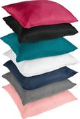 Párnahuzat Waffel - Piros/Krém, Textil (40/40cm) - Mömax modern living