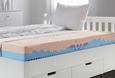 KOMFORTSCHAUMMATRATZE 140x200cm - Textil (140/200cm) - Nadana