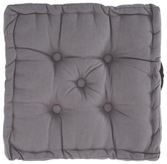 Blazina Ninix - siva, tekstil (40/40/10cm) - Mömax modern living