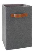Box Tahu - Braun/Grau, MODERN, Kunststoff/Textil (31/31/51cm) - Mömax modern living