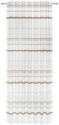 Schlaufenvorhang Adele, ca. 140x245cm - Braun, KONVENTIONELL, Textil (140/245cm) - MÖMAX modern living
