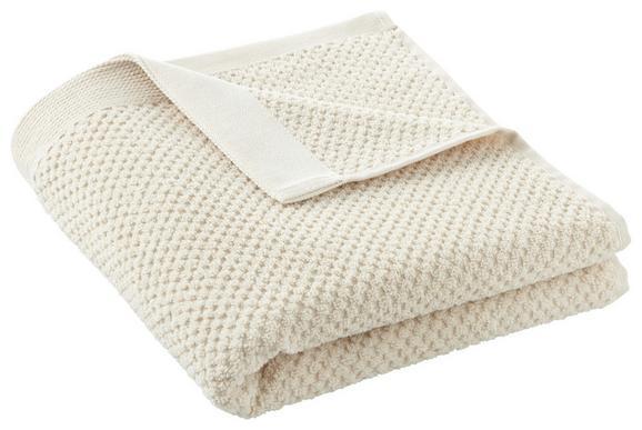 Handtuch Juliane Beige - Beige, Textil (50/100cm) - Premium Living