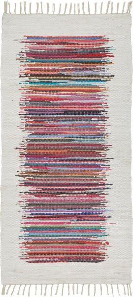 Fleckerlteppich Verena in Bunt, ca. 80x150cm - Multicolor, LIFESTYLE, Textil (80/150cm) - MÖMAX modern living