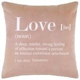 Zierkissen Love Violet ca. 45x45cm - Violett, KONVENTIONELL, Textil (45/45cm) - Mömax modern living