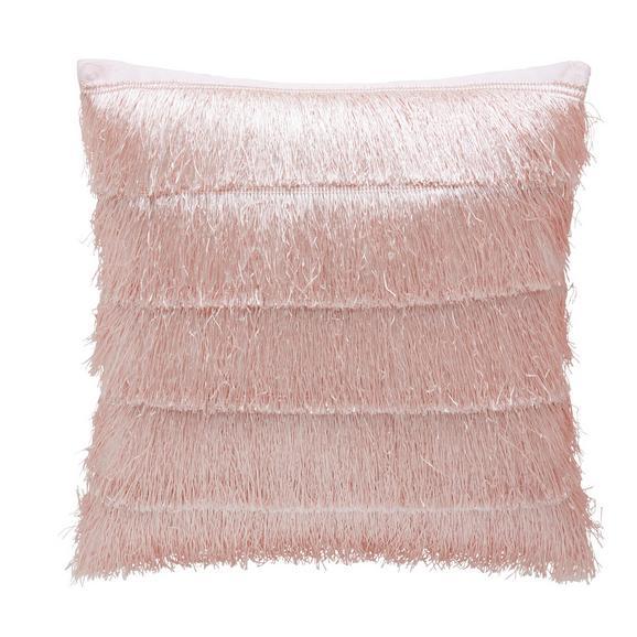 Zierkissen Frances in Rosa - Rosa, Trend, Textil (40/40cm) - Premium Living