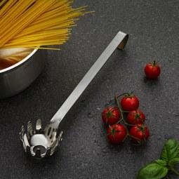 Spaghettilöffel Rösle - Edelstahlfarben, KONVENTIONELL, Metall (29,5/6,4/4,3cm) - Rösle