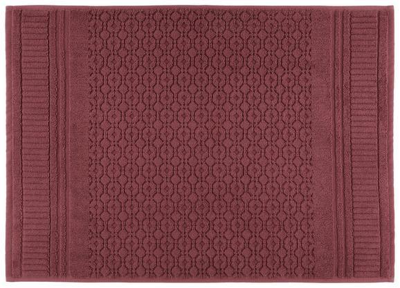 Badematte Carina Mauve 50x70cm - Lila, ROMANTIK / LANDHAUS, Textil (50/70cm) - Mömax modern living