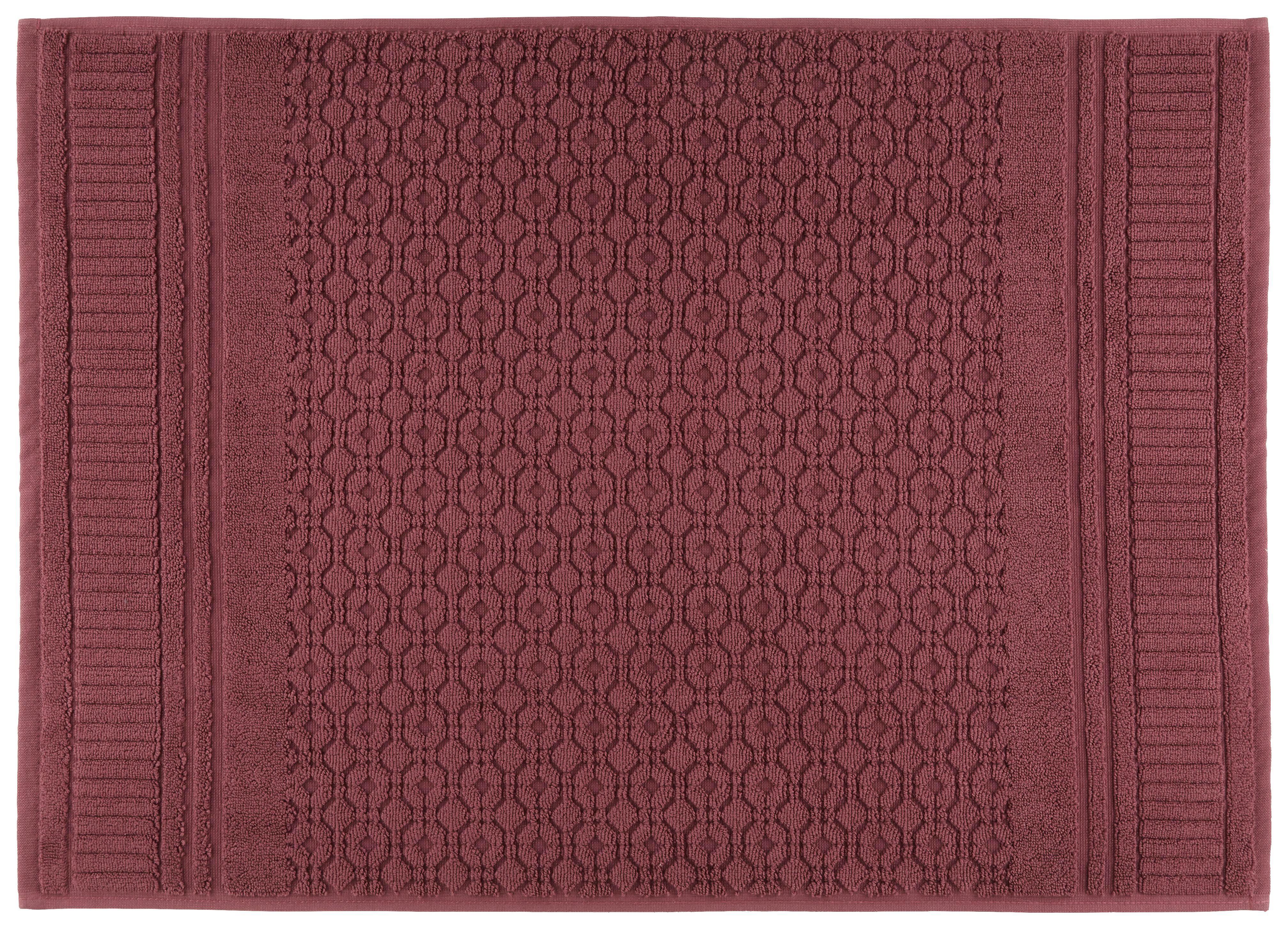 Fürdőszoba Szőnyeg Carnia - lila, romantikus/Landhaus, textil (50/70cm) - MÖMAX modern living