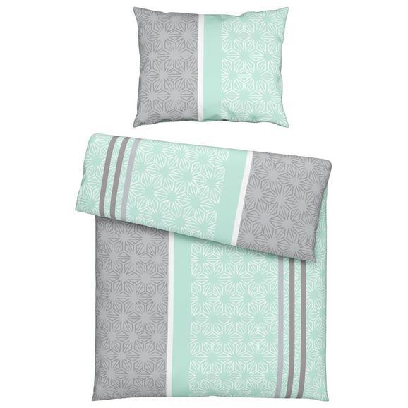 Posteljnina Doris - roza/siva, tekstil (140/200cm) - Mömax modern living