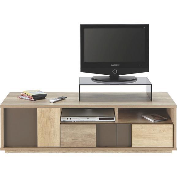 Phonotisch in Eichefarben - Eichefarben/Braun, MODERN, Holzwerkstoff (140/40/45cm) - Mömax modern living