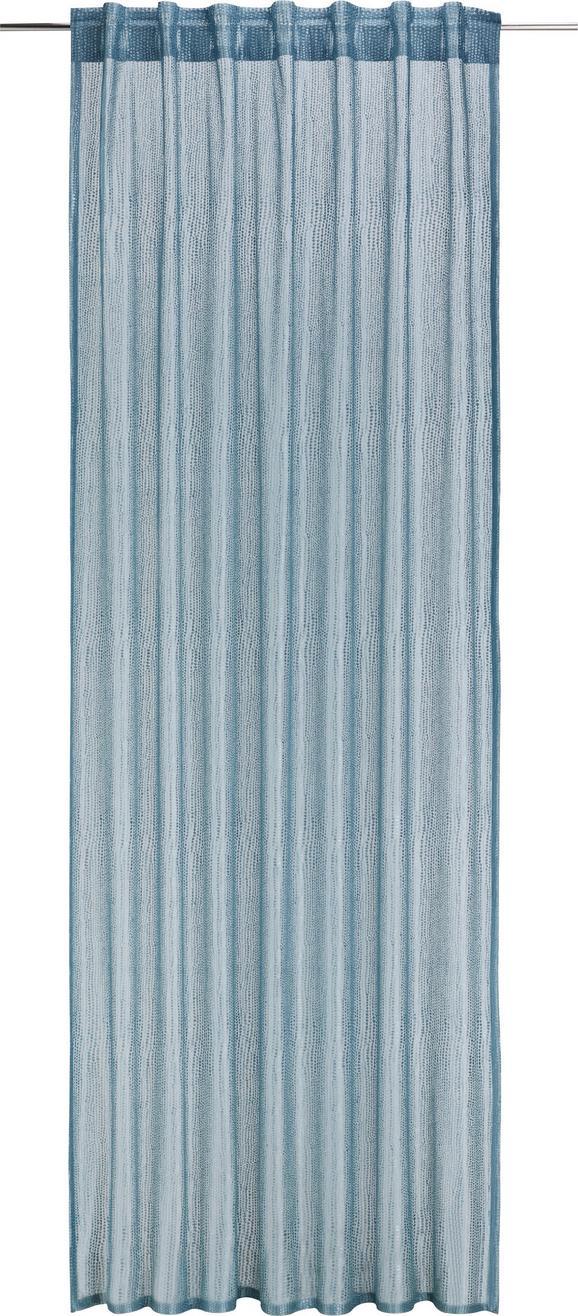 Zavesa Z Zankami Elsa - zeleni žad, Romantika, tekstil (140/245cm) - Mömax modern living