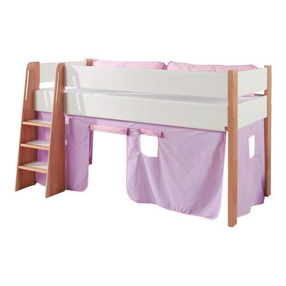 Spielvorhang Stoffset ohne Turm - Flieder/Rosa, Design, Textil