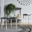 Couchtisch in Grau/Weiß - Weiß/Grau, LIFESTYLE, Holz/Holzwerkstoff (60/40/60cm) - Modern Living