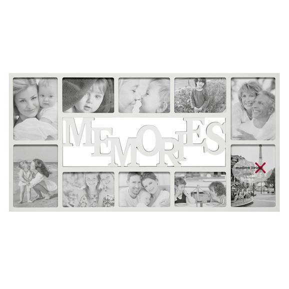 Okvir Za Slike Alfred - bela, Moderno, umetna masa/karton (73/37/2cm) - Mömax modern living