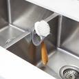 Schwammhalter Flexy in Grau - Grau, MODERN, Kunststoff/Metall (11/25,5cm) - Mömax modern living