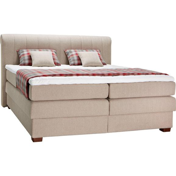 boxspringbett creme 160x200cm online kaufen m max. Black Bedroom Furniture Sets. Home Design Ideas