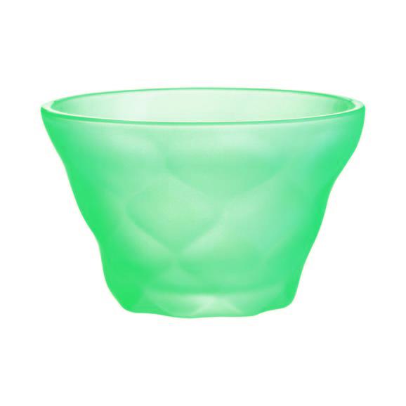 Eisschale Cindy in verschiedenen Farben - Hellrosa/Gelb, MODERN, Glas (0,2l) - Mömax modern living