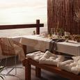 Tischläufer Laguna Weiß/gold - Goldfarben/Weiß, Textil (45/150cm) - Mömax modern living