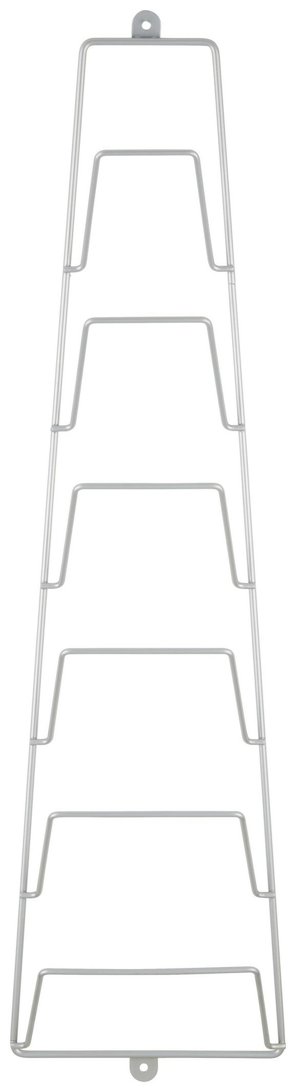 Újságtartó Praktik - Alu, konvencionális, Fém (18/65/18cm) - Mömax modern living