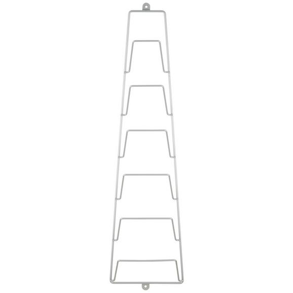 Zeitungsständer Alufarben - Alufarben, Metall (18/65/18cm) - Mömax modern living