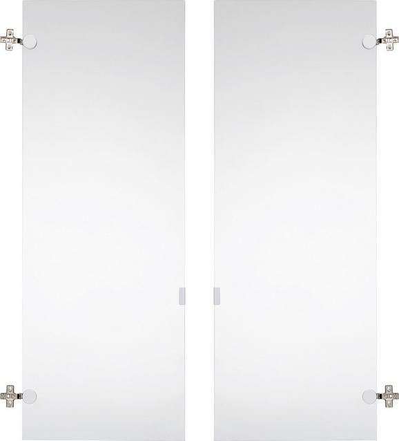 Türenset aus Glas - Klar, MODERN, Glas (75,6/102,3cm) - MÖMAX modern living