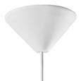 Pendelleuchte Leon - Weiß, MODERN, Metall (29/125cm) - Bessagi Home
