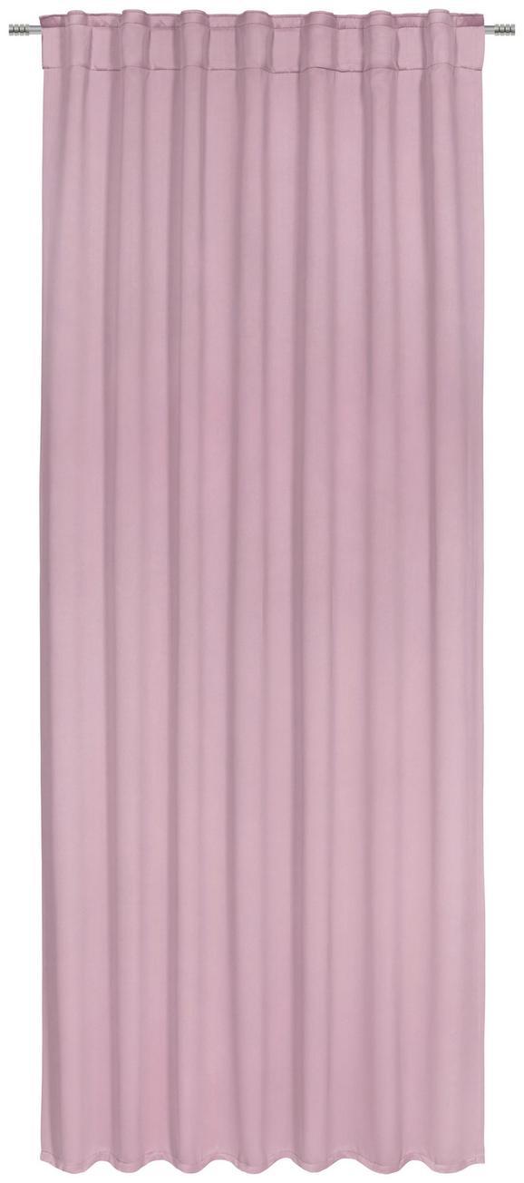 Zatemnitvena Zavesa Riccardo - umazano roza, Moderno, tekstil (140/245cm) - PREMIUM LIVING