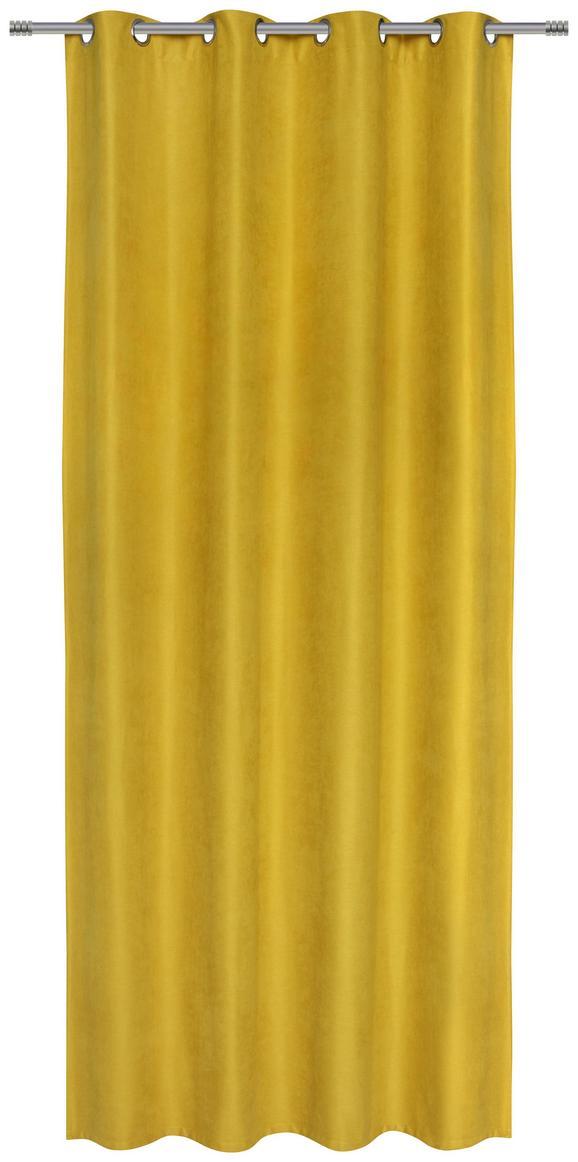 Ösenschal Pepsi Gelb 140x245cm - Gelb, KONVENTIONELL, Textil (140/245cm) - Mömax modern living
