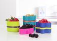 Set Posod Za Shranjevanje Tiny - vijolična/modra, umetna masa