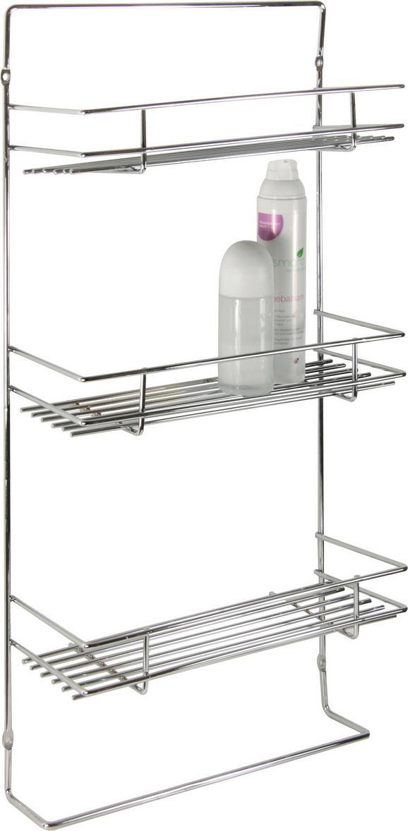 Kopalniški Regal Palermo - srebrna, Konvencionalno, kovina (28/55/11cm) - Mömax modern living