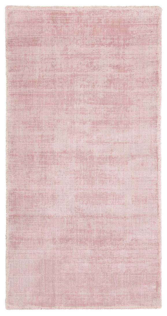 Webteppich Andrea Rosa ca. 70x140cm - Hellrosa, Textil (70/140cm) - Mömax modern living