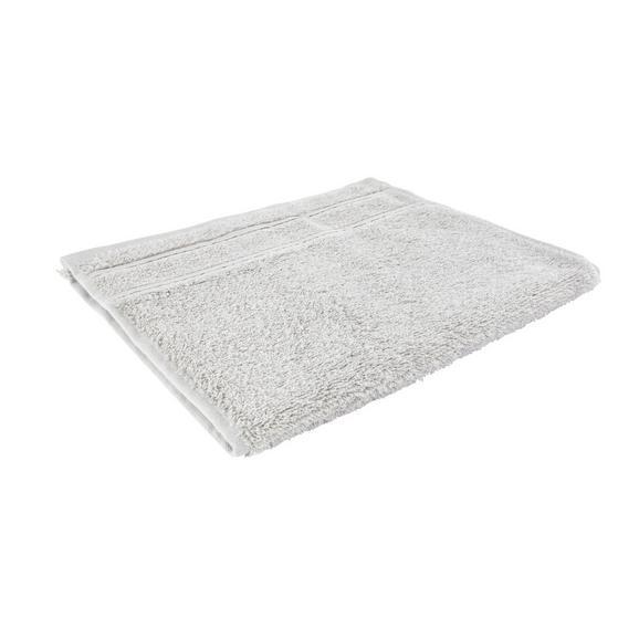 Vendégtörölköző Melanie 30/50 - Világosszürke, Textil (30/50cm) - Mömax modern living