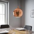 Pendelleuchte Mariba - Kupferfarben, MODERN, Glas/Metall (30/120/cm) - Modern Living