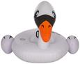 Schwimmtier White Swan Weiß - Schwarz/Weiß, Kunststoff (201/160cm) - Mömax modern living