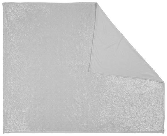 Kuscheldecke Glitter Weiß 150x200cm - Weiß, KONVENTIONELL, Textil (150/200cm) - Mömax modern living