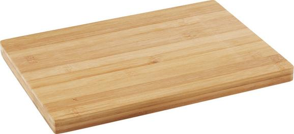 Schneidebrett Bamboo in Natur aus Echtholz - Naturfarben, Holz (28/20,3/1,7cm) - Mömax modern living