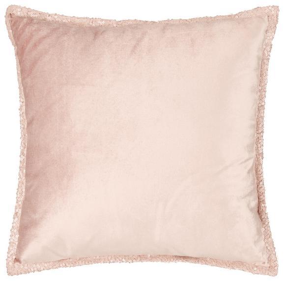 Zierkissen Janet Rosa 45x45cm - Rosa, LIFESTYLE, Textil (45/45cm) - Premium Living