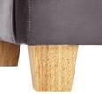 Sessel Matteo inkl. Rückenkissen - Grau, MODERN, Holz/Textil (86/86/90cm) - Mömax modern living