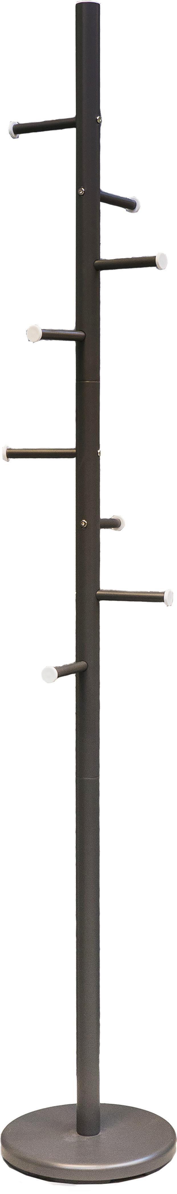Kleiderständer in Anthrazit aus Metall - Anthrazit, Metall (28/180cm) - MÖMAX modern living