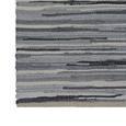 Handwebteppich Verona in Grau ca. 60x120cm - Grau, Basics, Textil (60/120cm) - Modern Living