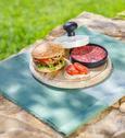 Stiskalo Za Hamburger Till - črna/bela, umetna masa (11,5/7cm) - Mömax modern living