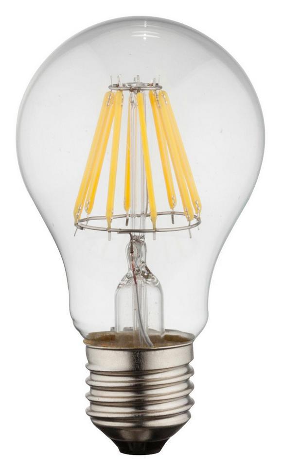 LED-Leuchtmittel 10582, max. 28 Watt - Klar/Silberfarben, Glas/Metall (6/10,6cm)