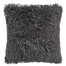 Fellkissen Marle 45x45 cm - Dunkelgrau, MODERN, Textil (45/45cm) - Mömax modern living