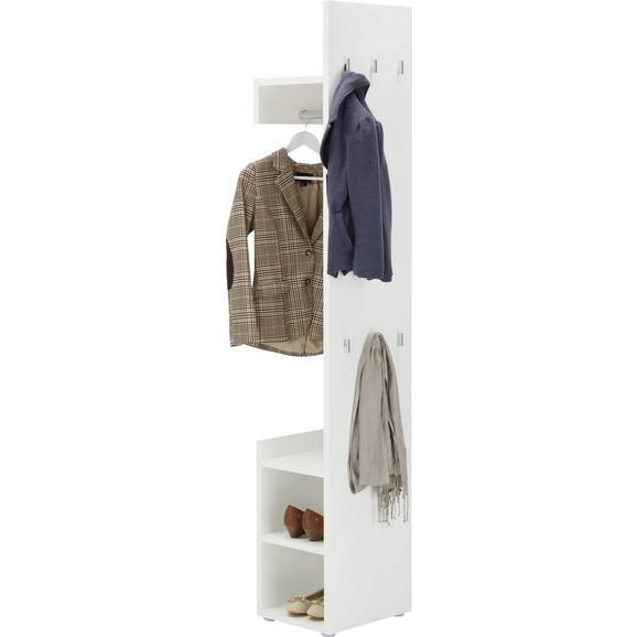 garderobe in wei online kaufen m max. Black Bedroom Furniture Sets. Home Design Ideas