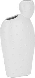 Vaza Arizona - bela, Trendi, keramika (12/7,5/25cm)