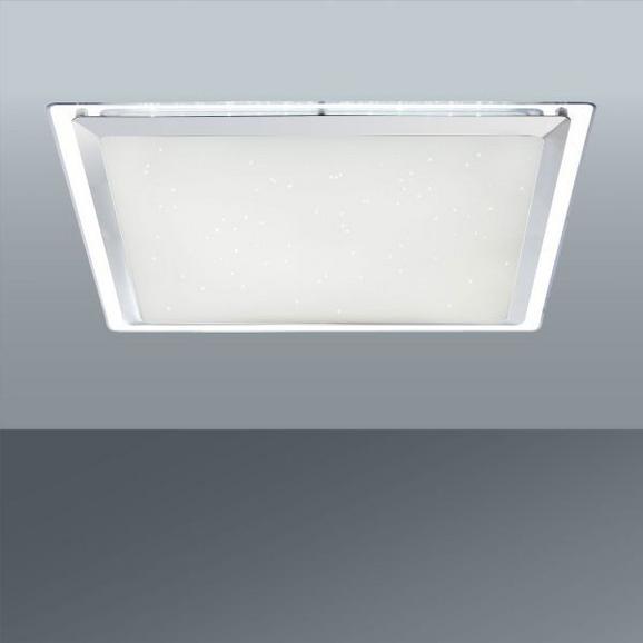 LED-Deckenleuchte Rena, max. 1x30 Watt - Weiß, KONVENTIONELL, Kunststoff/Metall (44,5/44,5/7cm)