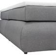 Boxspringbett in Grau ca. 160x200cm - Schwarz/Grau, Kunststoff/Textil (160/200cm) - Premium Living