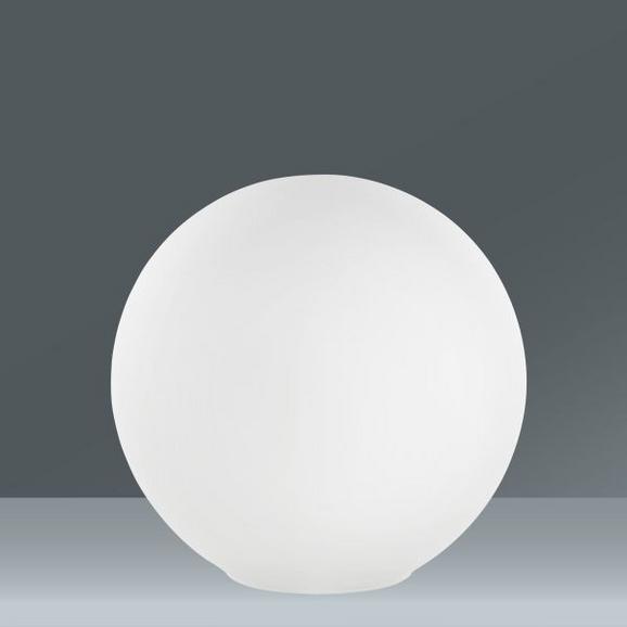 Namizna Svetilka Balla - bela, steklo (25cm) - Mömax modern living