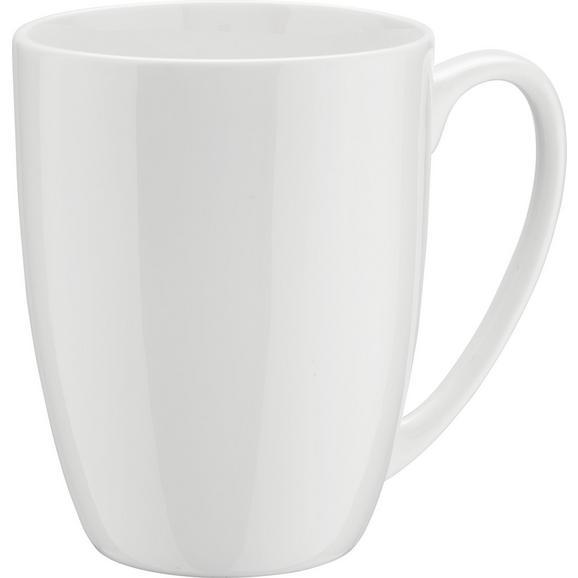 Cană Pentru Cafea ''bonie'' - alb, Modern, ceramică (0,380l) - Modern Living